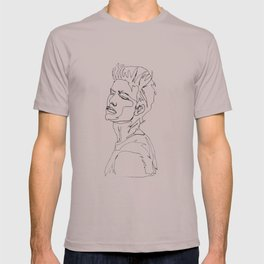 minimal drawing  T-shirt