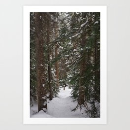 Where We Found Narnia Art Print