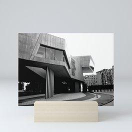 MAXXI Museum Zaha Hadid   Roma - Italy #architecture Mini Art Print