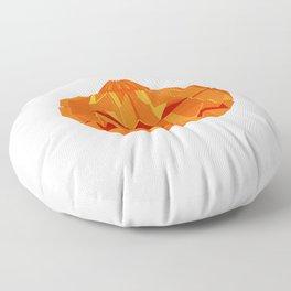 Origami Pumpkin Floor Pillow