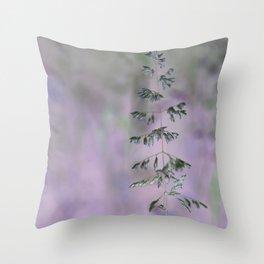 Grass invers Throw Pillow