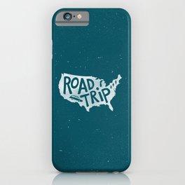 Road Trip USA - reverse iPhone Case