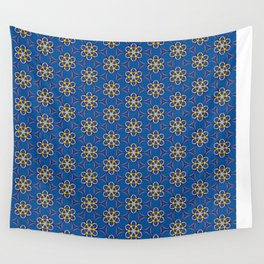 Galactic Flowers Wall Tapestry