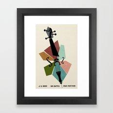 Bach - Cello Suites Framed Art Print