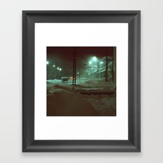 In hibernation Framed Art Print