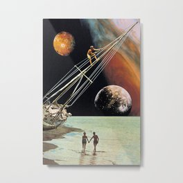 Set Sail for the Stars Metal Print