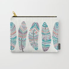 Feathers of Nature Carry-All Pouch