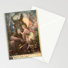 """""""How I Love You"""" by Franklin C. Pape' 1911 Stationery Cards"""