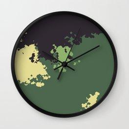 Camo 21 Wall Clock