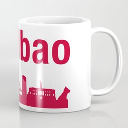 Bilbao, home of the Guggenheim and Athletic in Spain Coffee Mug