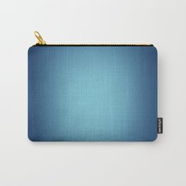 White spotlight on blue Carry-All Pouch