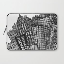 looking uptown (small) Laptop Sleeve