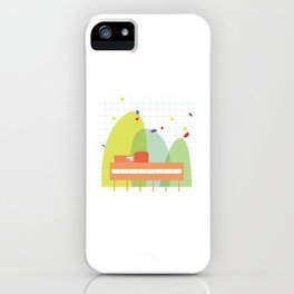 architecture - le corbusier iPhone Case