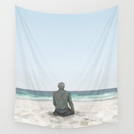 Rowan on the Beach Wall Tapestry