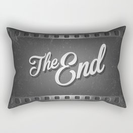 The End /poster Rectangular Pillow