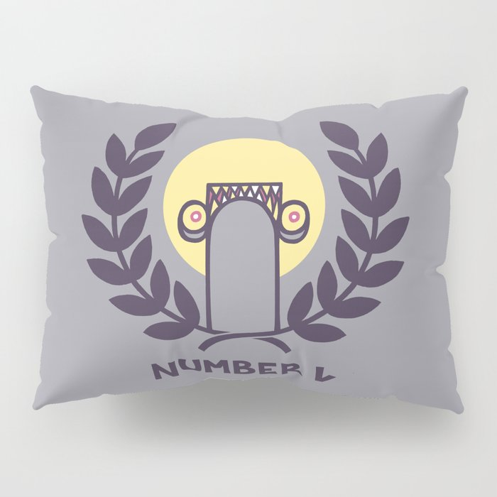Number One Pillow Sham