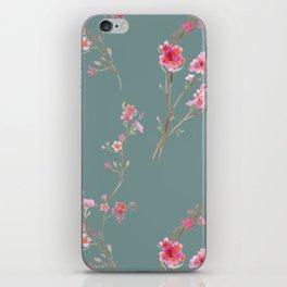 2016 Calendar Print - Cherry Blossoms iPhone Skin