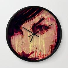 Strange Girl Wall Clock