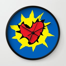 Set the controls for the heart of the sun.  Wall Clock