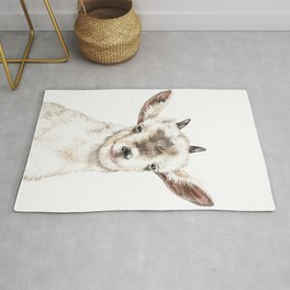 Oh My Goat Rug