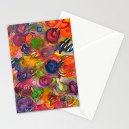 comets Stationery Cards