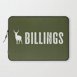Deer: Billings, Montana Laptop Sleeve