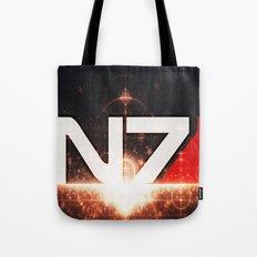 Mass Effect N7 Tote Bag