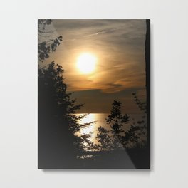 Sunset Gold Metal Print