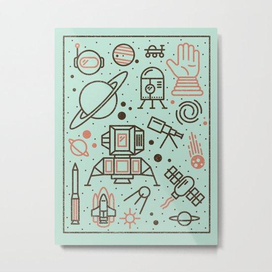 Cosmic Frontier  Metal Print