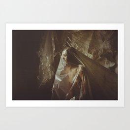 Suffocate-1 Art Print