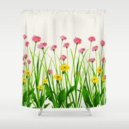 Wildflowers III Shower Curtain