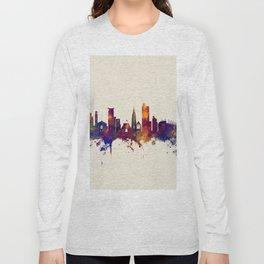 Southampton England Skyline Long Sleeve T-shirt