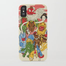 Monster Parade iPhone Case