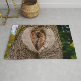 tree tribe branch knothole nature Rug