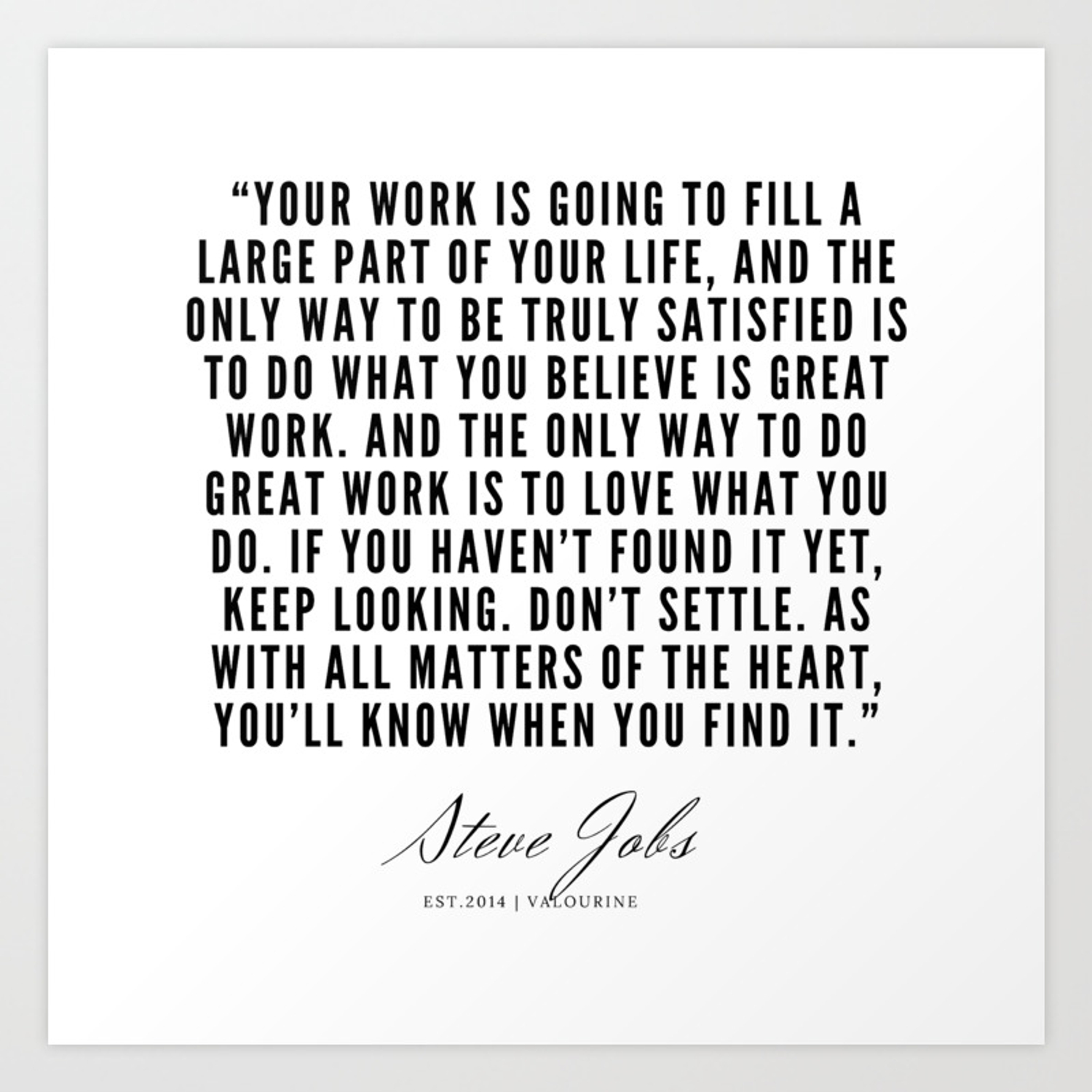22 Steve Jobs Quotes 190720 Art Print By Quotesandsayings Society6