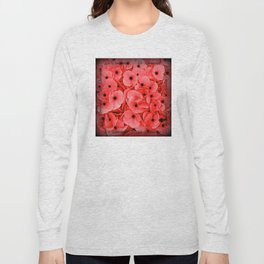Veterans   Memorial Day   Remembrance Day   We Remember   Red Poppies   Nadia Bonello Long Sleeve T-shirt