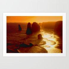 Australian Oceans Art Print