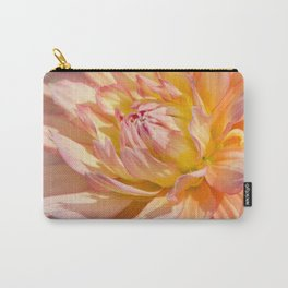 Delicate Pink Petals Carry-All Pouch