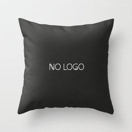 no logo Throw Pillow