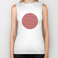 dots Biker Tanks featuring Dots by Anthony Londer