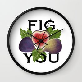 Fig Wall Clock