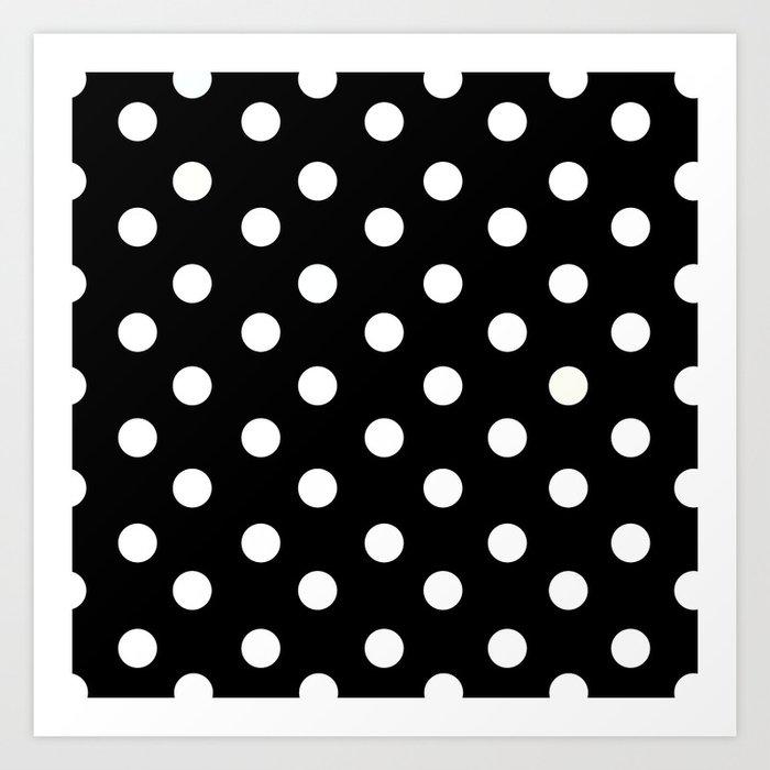 Polka Dot Pattern Kunstdrucke