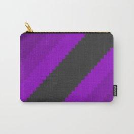 Pixel Grape Juice Dreams - Purple Carry-All Pouch