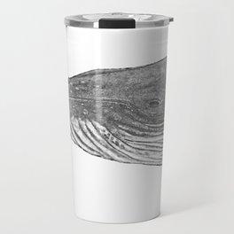 Grey Humpback whale portrait Travel Mug