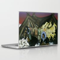 mythology Laptop & iPad Skins featuring Inuit Mythology: Chapter 1, part 2 by Estúdio Marte