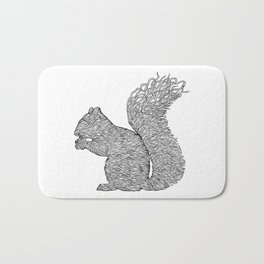 SQUIRREL LINES Bath Mat