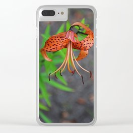 Dazzled by Sunshine- vertical Clear iPhone Case