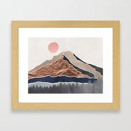 Mount Hood Oregon - Daylight Wilderness Gerahmter Kunstdruck