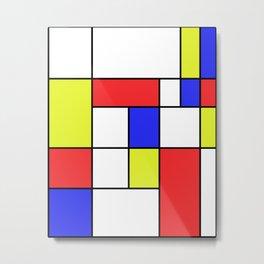 Mondrian #23 Metal Print