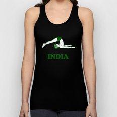 India  Unisex Tank Top